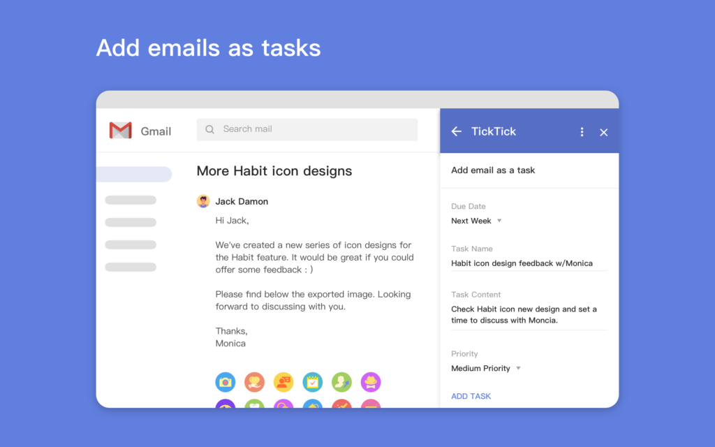 Handle Your Inbox More Efficiently With TickTick for Gmail