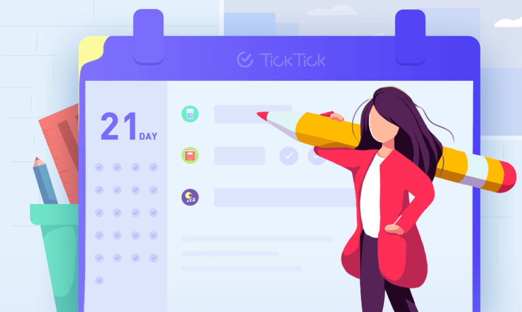 TickTick Habit tracker